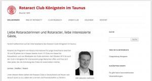 Die Webseite des Clubs ist endlich online.